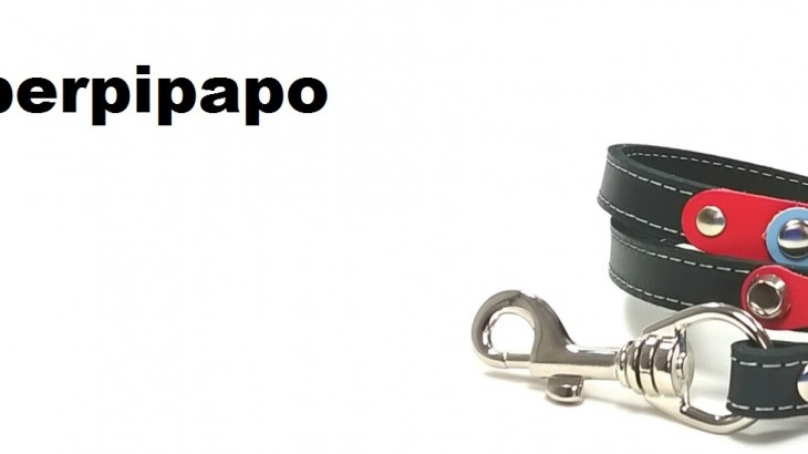 Superpipapo – Dessin original des harnais et colliers pour chiens et chats – Fait à main de cuir Espagnol – Laisses et bracelets à jeux – Allez au magasin en ligne !