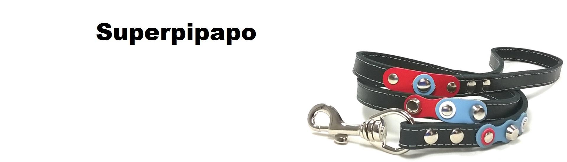 Superpipapo – Originelle Design Hundegeschirre und Halsbänder für Hunde und Katzen – Handgemacht von Spanischem Leder – Passende Leinen und Armbänder – Gehe zum Online Shop!