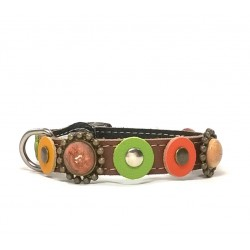 Cat Collar with beautiful natural colors