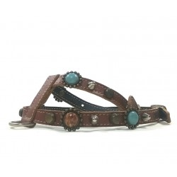 Bohemian Style Leather Harness for Chihuahuas and small Dogs