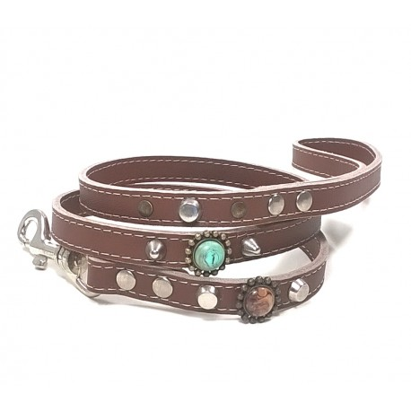 Unique Bohemian Style Studded Lead for Dogs