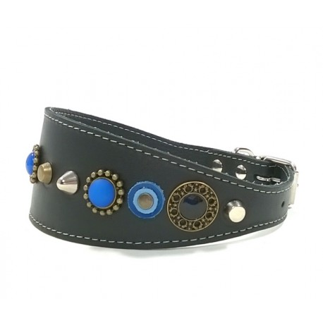 Fashionable Trendy and Stylish Wide Leather Collar
