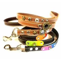 Leather Dog Lead Custom Made to 100% Match The Rest of your Order!